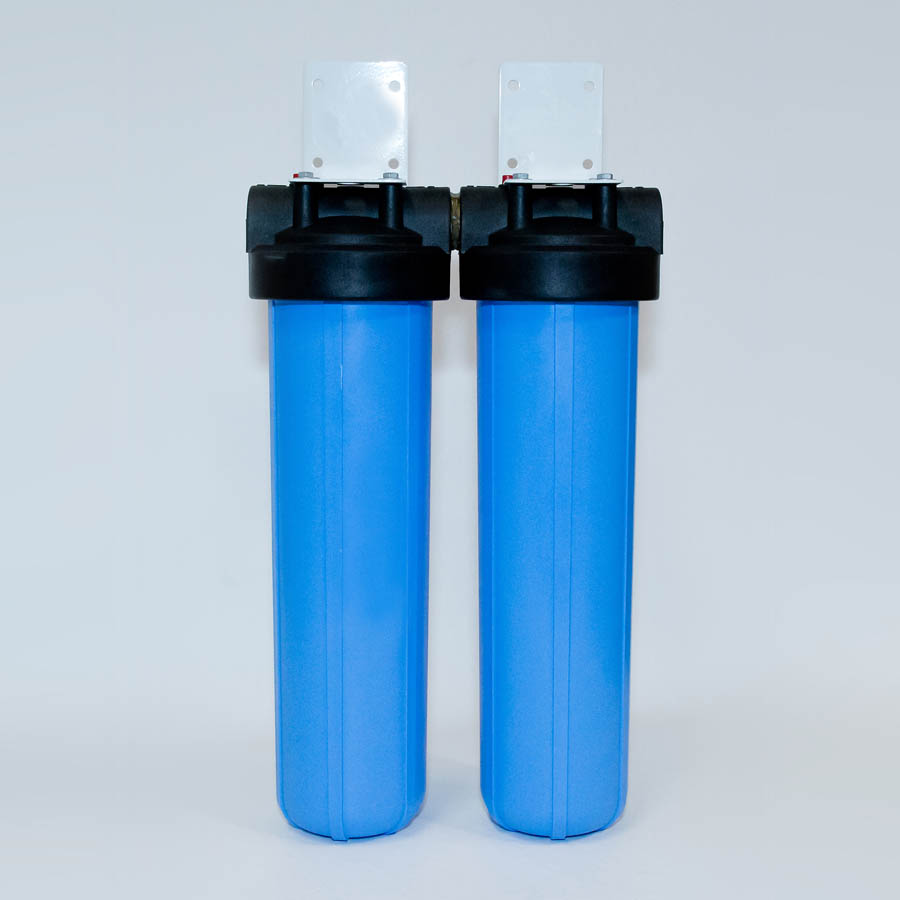 Waterways 20 inch twin Big Blue water filter system