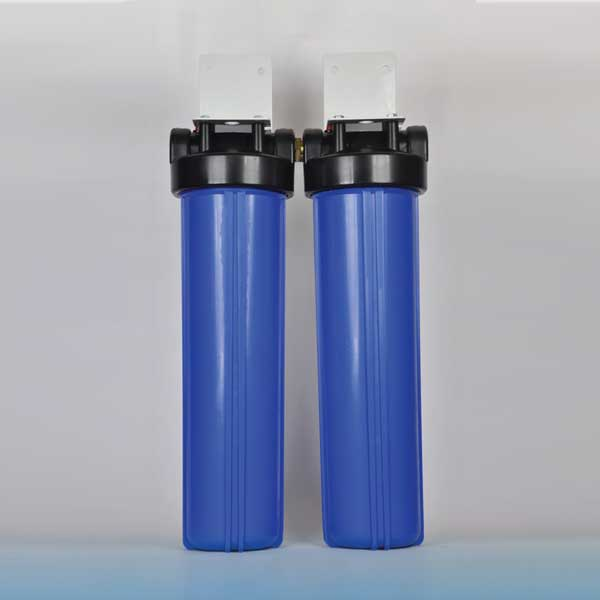 Waterways Big Blue Rainwater twin housing kit
