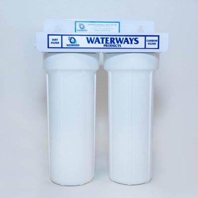 Waterways Twin Rainwater water filter system