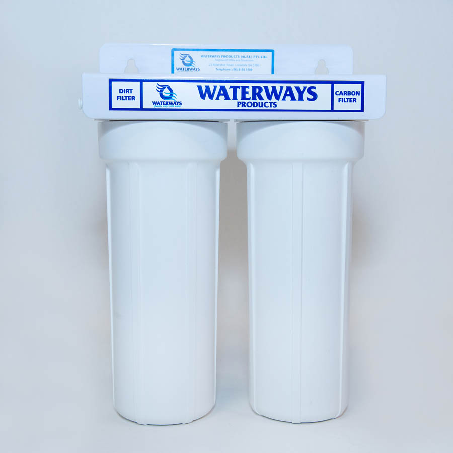 Waterways Twin Rainwater water filter system