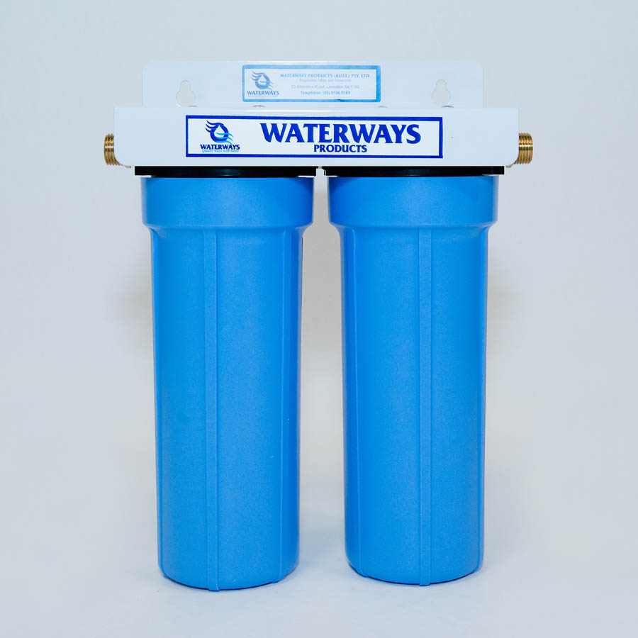 Waterways Big Blue twin carbon filtration system