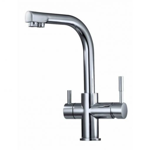 Waterways multi stream 3 way mixer tap Sterling Chrome